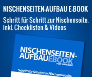 Nischenseiten Aufbau Ebook